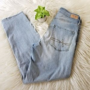 Levi's Denizen High Rise Ankle Straight Jeans 4
